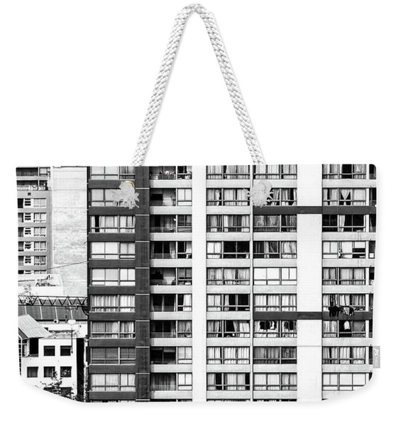 Abstract Architecture In Santiago Chile Weekender Tote Bag