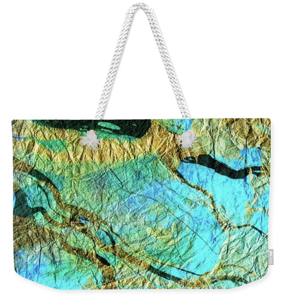 Abstract Art - Deeper Visions 3 - Sharon Cummings Weekender Tote Bag