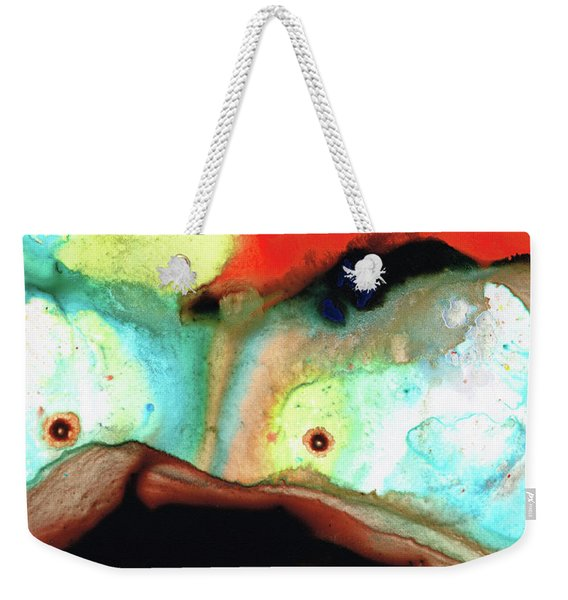 Abstract Art - Meeting Of The Minds - Sharon Cummings Weekender Tote Bag