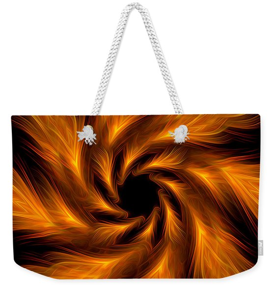 Abstract Art - Powerful Fragility By Rgiada Weekender Tote Bag