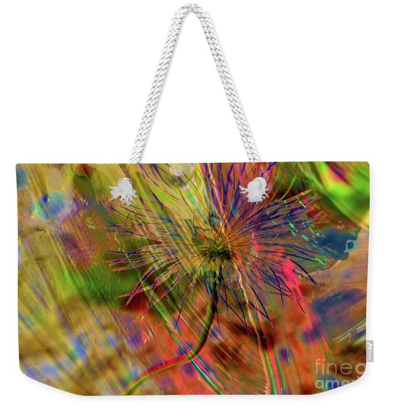 Abstract Bear Grass Weekender Tote Bag