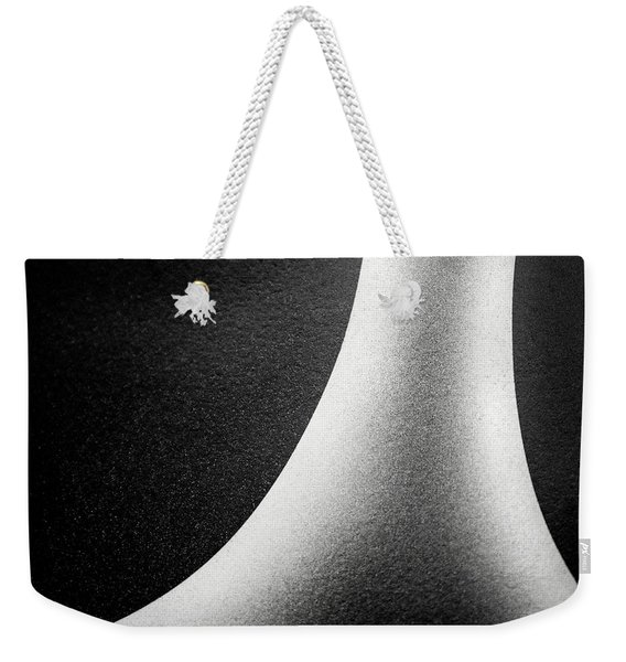 Abstract-black And White Weekender Tote Bag