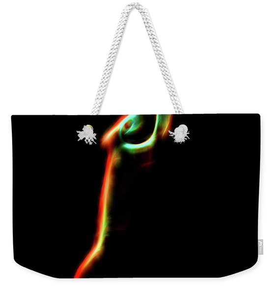 Abstract Body 2 Weekender Tote Bag