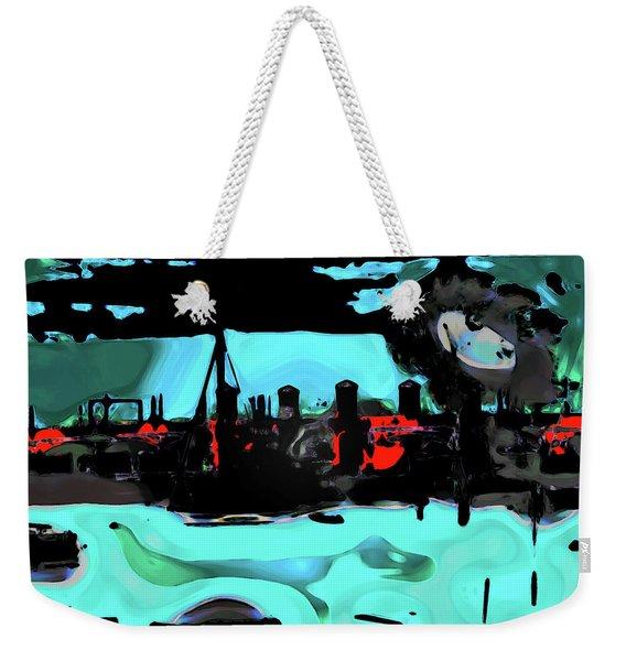 Abstract Bridge Of Lions Weekender Tote Bag