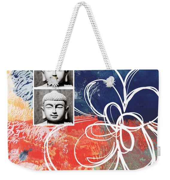 Abstract Buddha Weekender Tote Bag