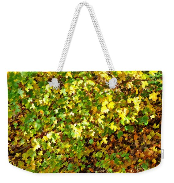 Abstract Bush Weekender Tote Bag