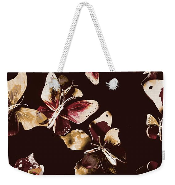 Abstract Butterfly Fine Art Weekender Tote Bag