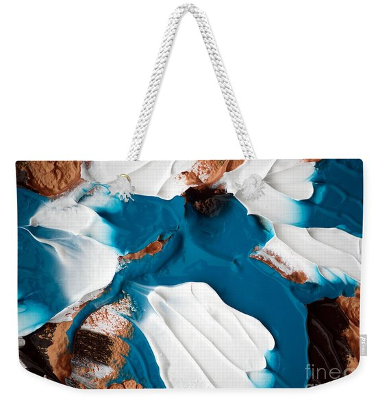 Abstract C010816 Weekender Tote Bag