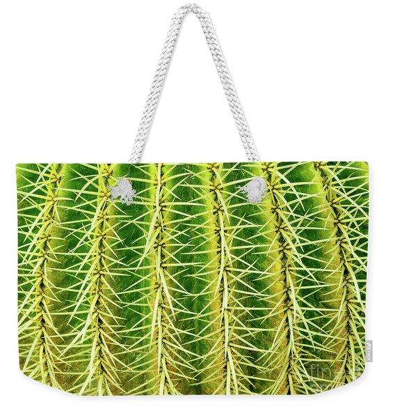 Abstract Cactus Weekender Tote Bag