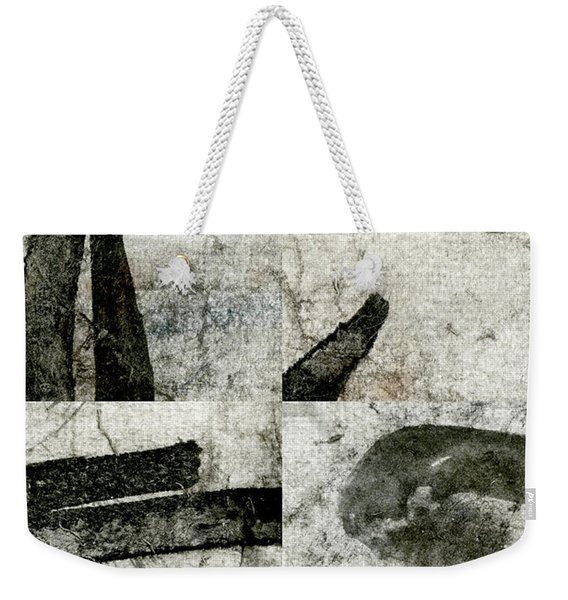 Abstract Calligraphy Collage 1 Weekender Tote Bag