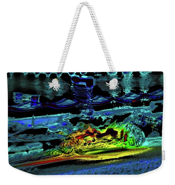 Abstract Carriage Ride Weekender Tote Bag