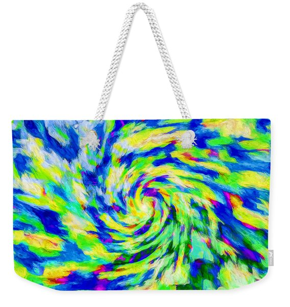 Abstract - Category 5 Weekender Tote Bag