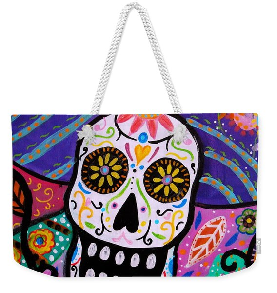 Abstract Catrina Weekender Tote Bag