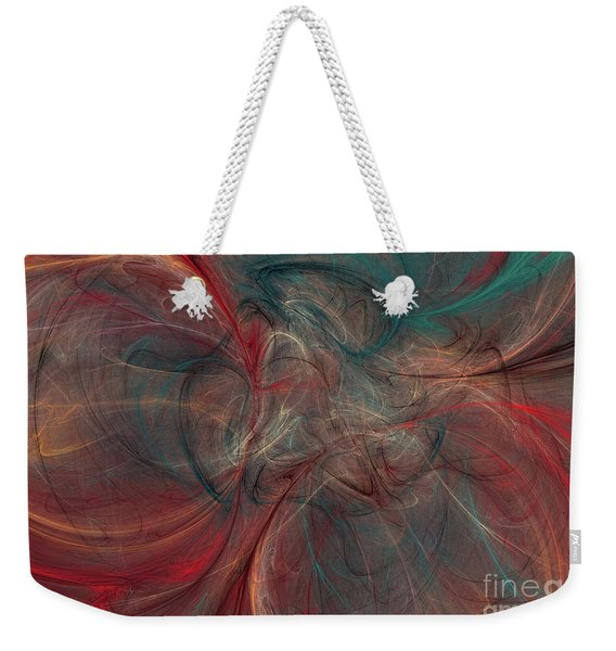 Abstract Chaotica 10 Weekender Tote Bag