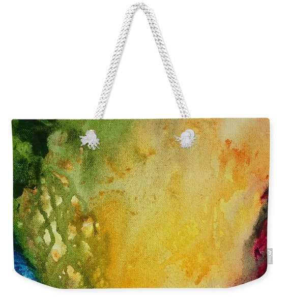 Abstract Color Splash Weekender Tote Bag