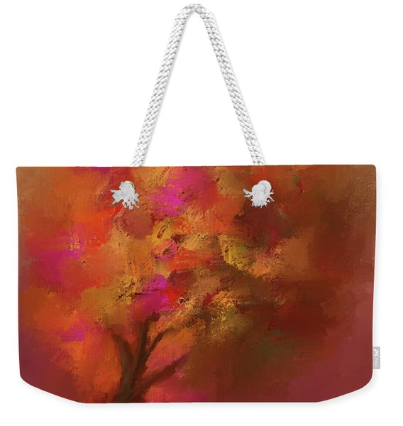 Abstract Colourful Tree Weekender Tote Bag