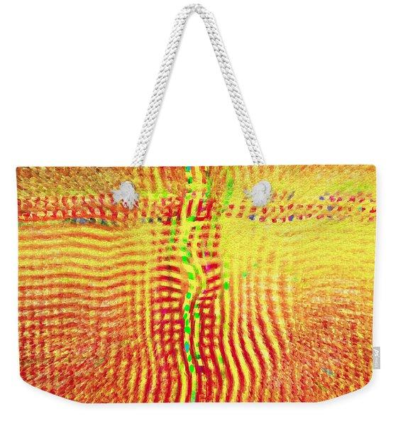 Abstract - Crossroads Weekender Tote Bag