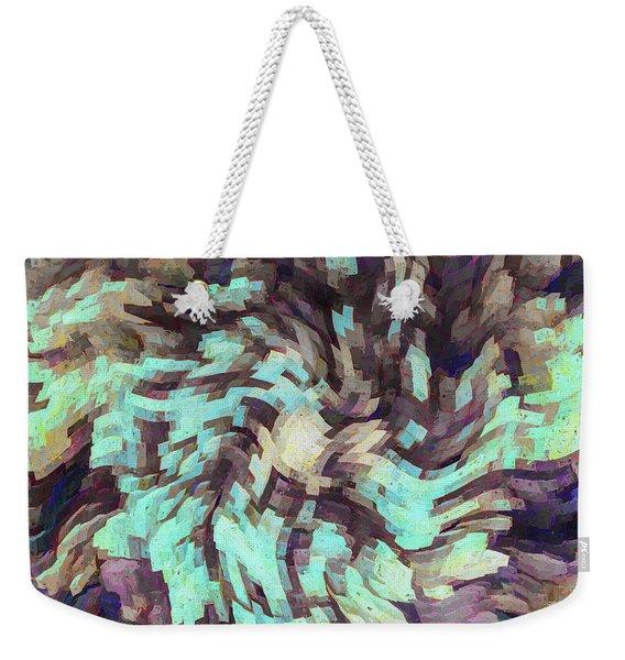 Abstract - De Profundis Weekender Tote Bag