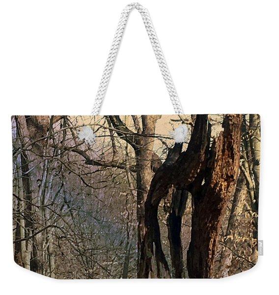 Abstract Dead Tree Weekender Tote Bag
