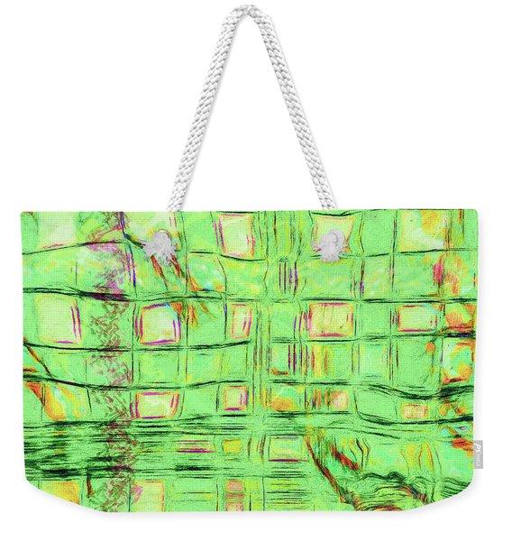 Abstract - Doors And Windows Weekender Tote Bag