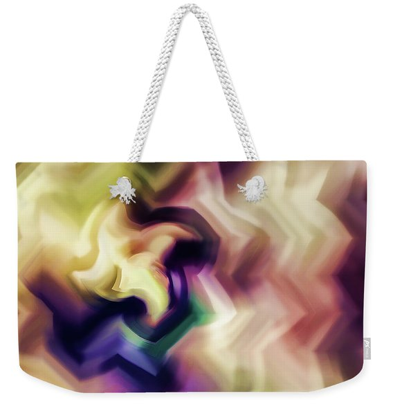 Abstract - Every Flower Is A Soul Weekender Tote Bag