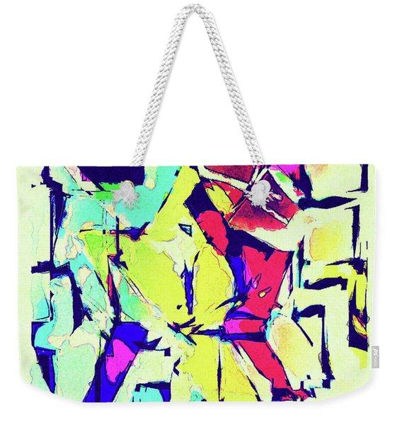 Abstract Explosion Weekender Tote Bag