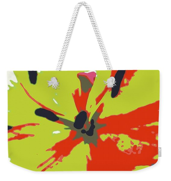 Abstract Expression 218 Weekender Tote Bag