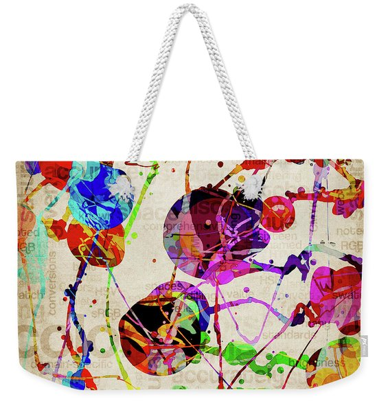 Abstract Expressionism 2 Weekender Tote Bag