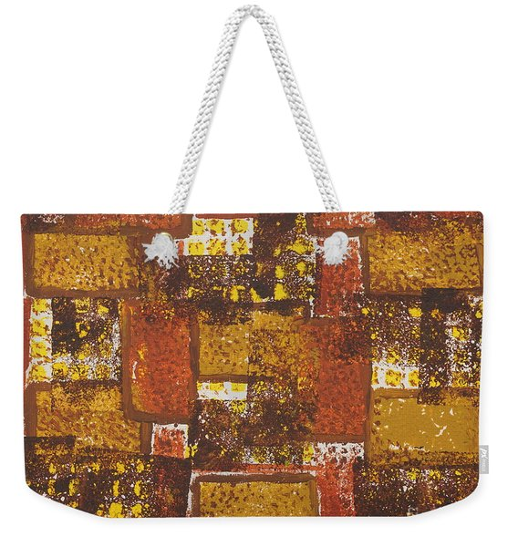 Abstract_ Fall  Weekender Tote Bag