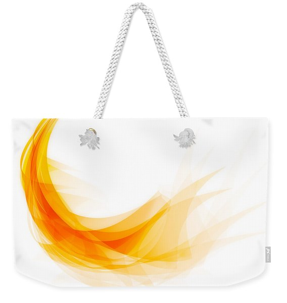Abstract Feather Weekender Tote Bag