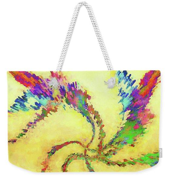 Abstract - Flights Of Fancy Weekender Tote Bag