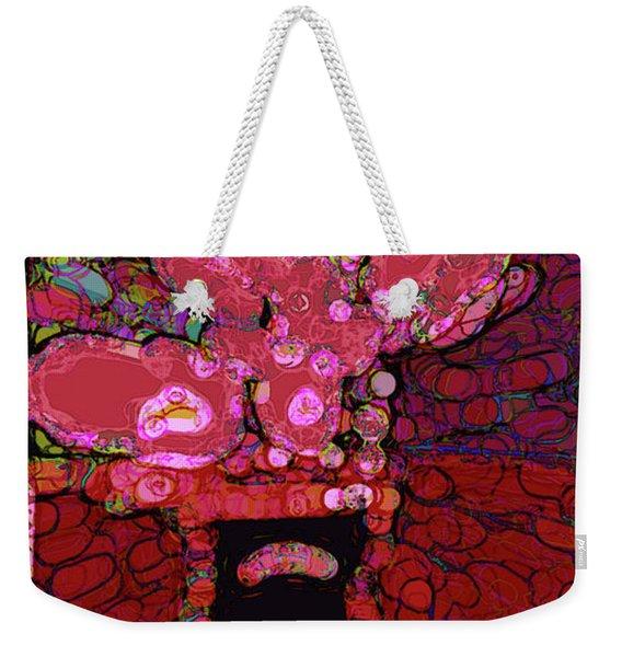 Abstract Floral Art 160 Weekender Tote Bag