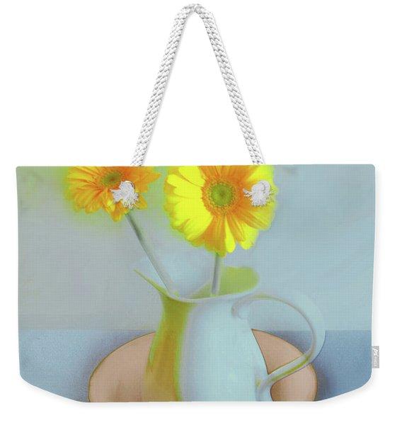 Abstract Floral Art 302 Weekender Tote Bag