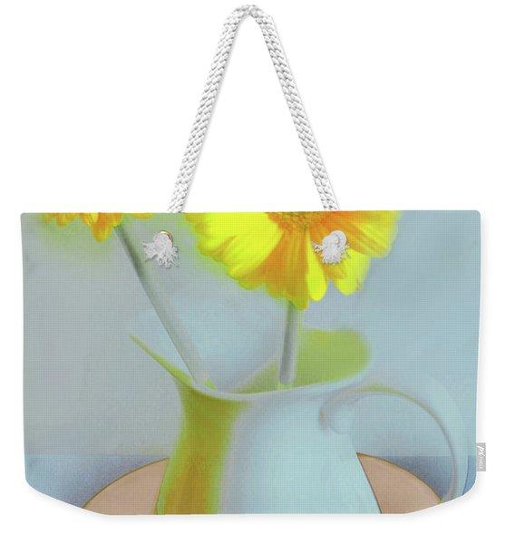 Abstract Floral Art 303 Weekender Tote Bag