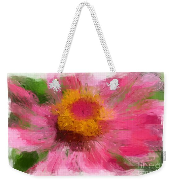 Abstract Flower Expressions Weekender Tote Bag
