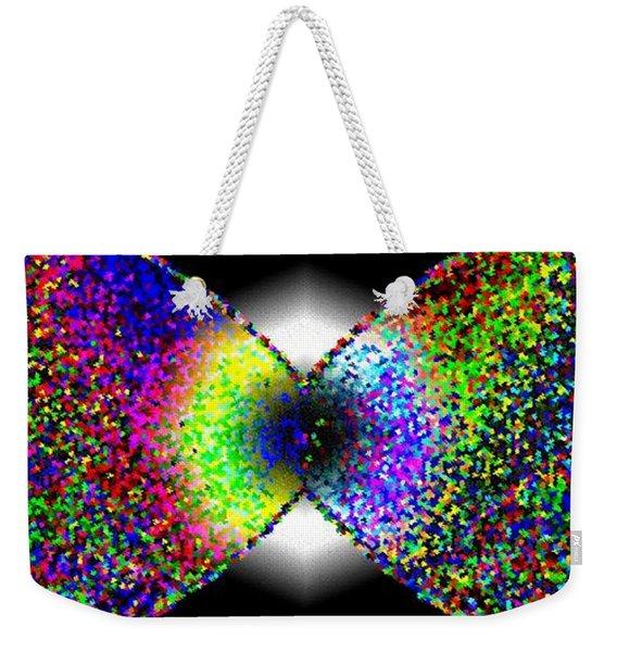 Abstract Fusion 264 Weekender Tote Bag