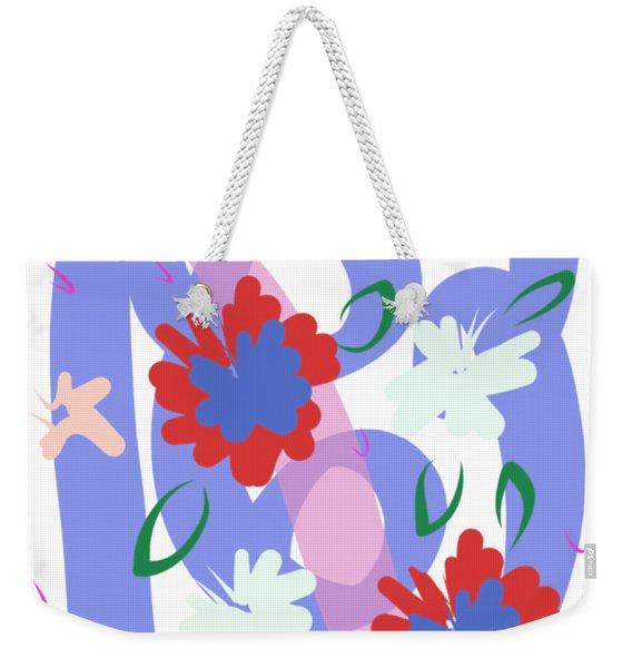 Abstract Garden #1 Weekender Tote Bag