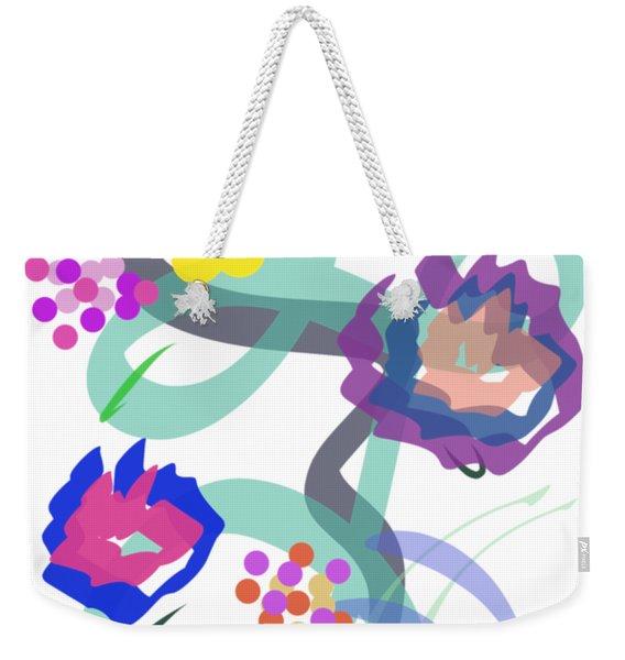 Abstract Garden Nr 4 Weekender Tote Bag
