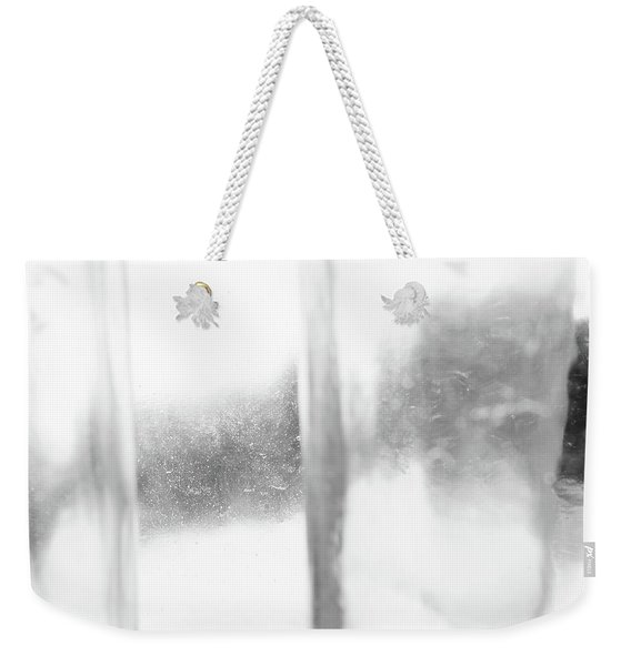 Abstract Glass Study 3 Square Weekender Tote Bag