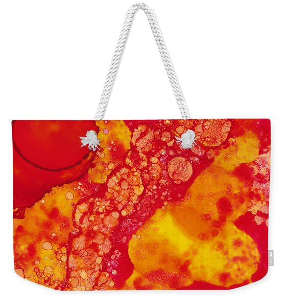 Abstract Intensity Weekender Tote Bag