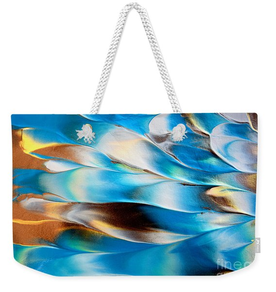 Abstract L1015al Weekender Tote Bag