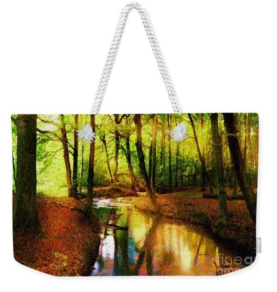 Abstract Landscape 0747 Weekender Tote Bag