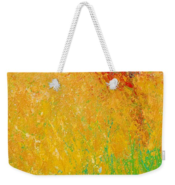 Abstract Landscape 1 Weekender Tote Bag