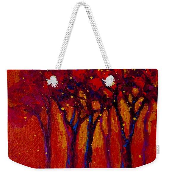 Abstract Landscape 2 Weekender Tote Bag