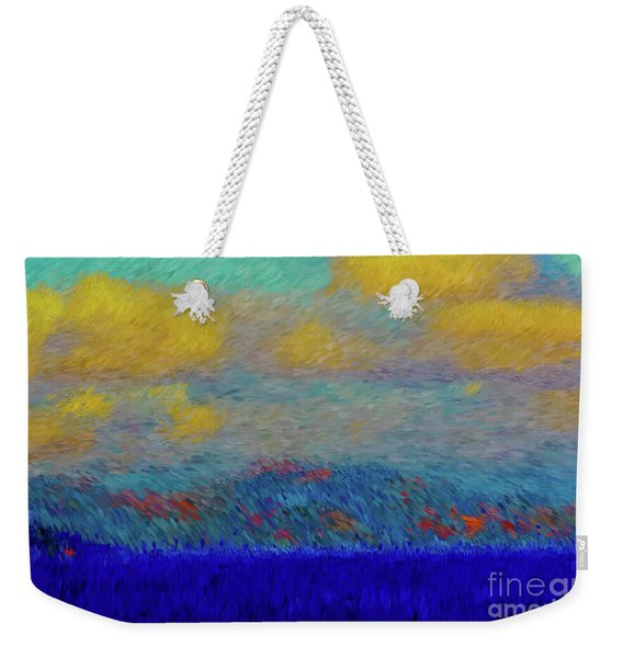 Abstract Landscape Expressions Weekender Tote Bag