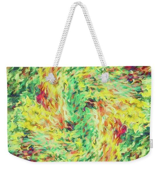 Abstract - Le Printemps Weekender Tote Bag