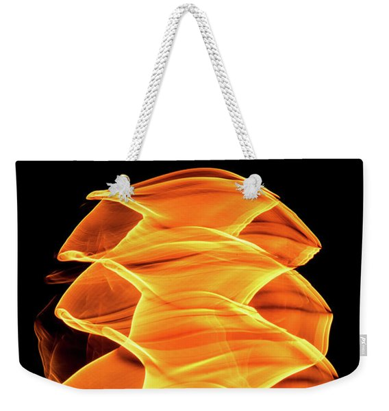 Abstract Light Number 2 Weekender Tote Bag