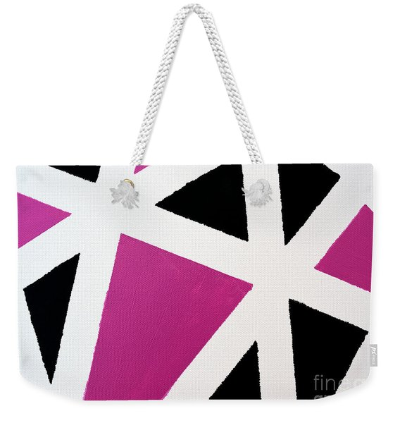 Abstract M1015l Weekender Tote Bag