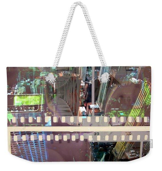 Abstract Movie 2 Weekender Tote Bag