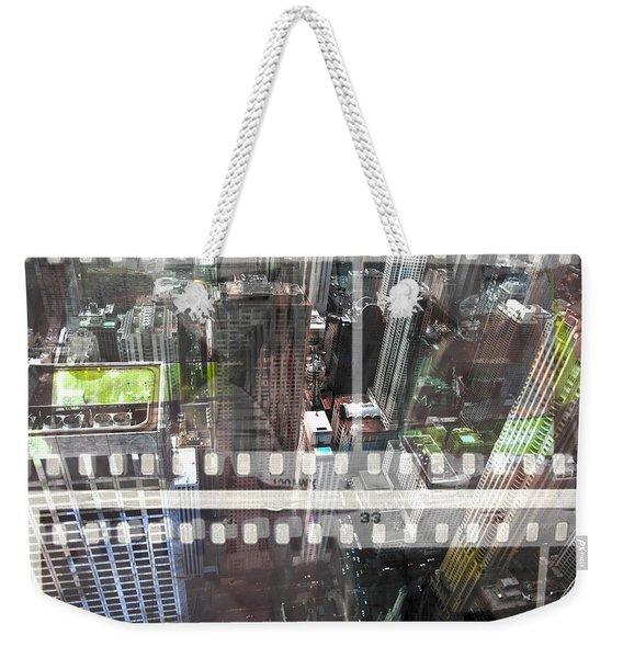 Abstract Movie Weekender Tote Bag